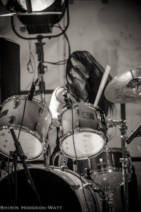 "Emma​'s drumming has been described as ""born in the Louisianna swamps rather than the beaches of Newquay"""